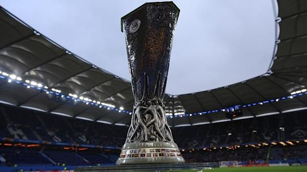 The UEFA Europa League trophy