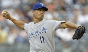 Guthrie, Royals beat Yankees, 5-1