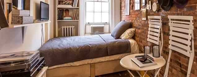 How one New Yorker lives happily in 90 square feet