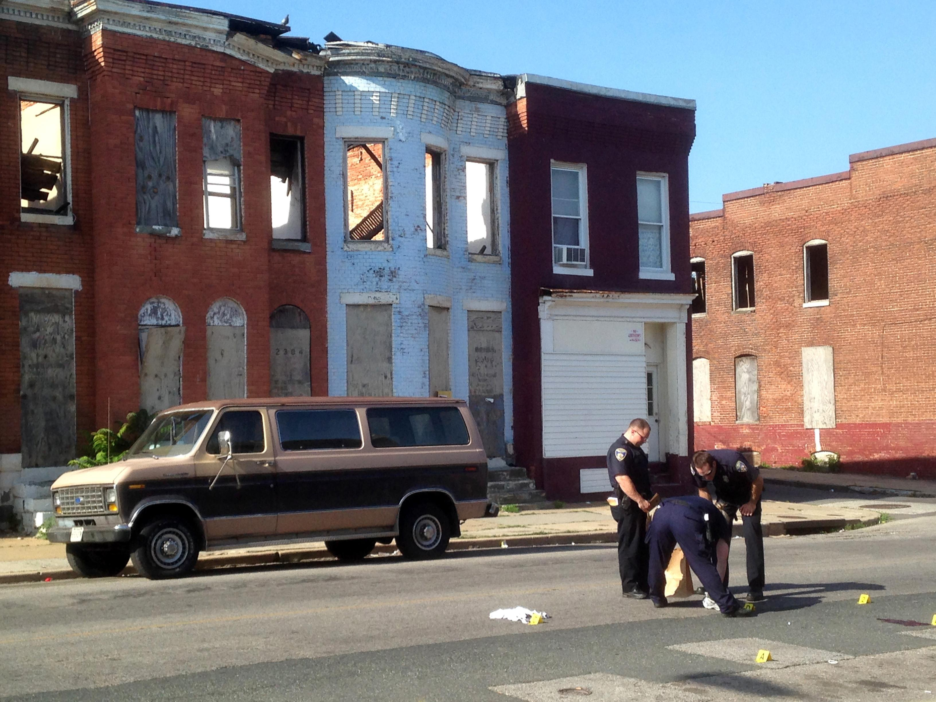 Baltimore residents fearful amid rash of homicides