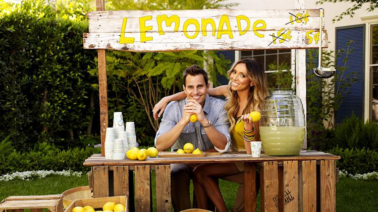 "Bill Rancic and Guiliana Rancic in ""Guiliana & Bill."""