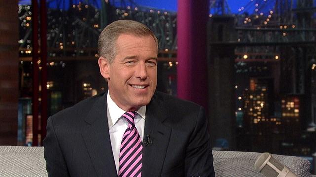 David Letterman - Brian Williams Does Regis