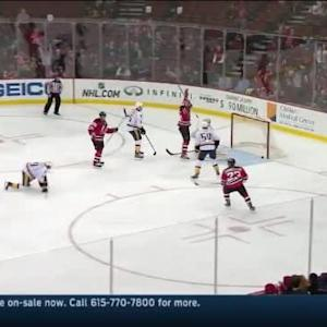 Eric Gelinas Goal on Carter Hutton (03:57/1st)