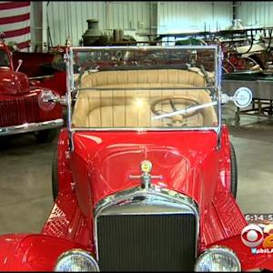 Money Raised From Auctioning Classic Car To Fund Memorial For Fallen Arizona Firefighters