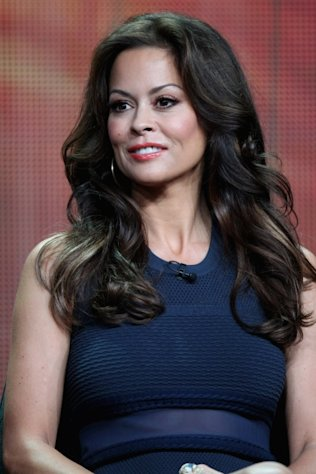 Brooke Burke-Charvet speaks onstage at the &#39;Dancing with the Stars: All-Stars&#39; panel during the Disney/ABC Television Group portion of the 2012 Summer TCA Tour in Beverly Hills on July 27, 2012 -- Getty Images