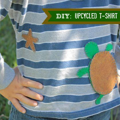 DIY: Easy T-Shirt Upcycle