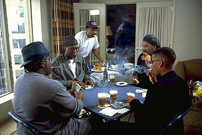 Cedric the Entertainer , Bernie Mac , Spike Lee , Steve Harvey and D.L. Hughley in Paramount's The Original Kings of Comedy