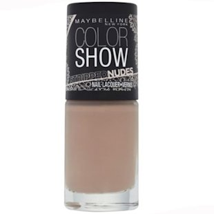 maybelline color show nudes collection in bare it all - flesh natural colour nail polish - ss14 nail trends - handbag.com