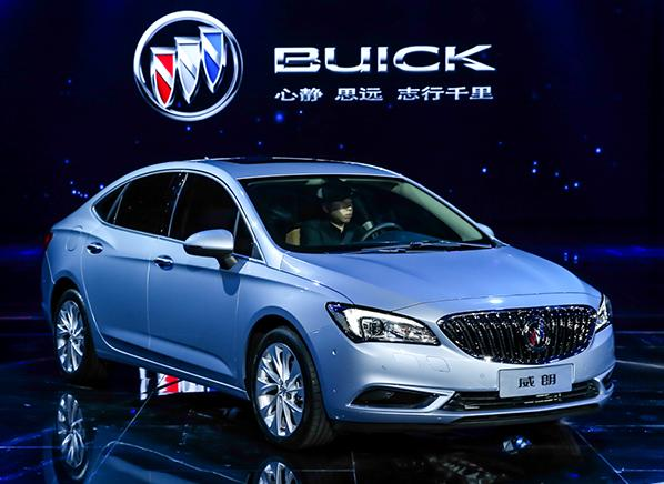 All-new 2017 Buick Verano sedan breaks cover