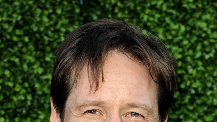 """Californication's"" David Duchovny arrives at the TCA Summer 2010 CBS/The CW/Showtime ""Star Party in the Tent"" on July 28, 2010 in Beverly Hills, California."