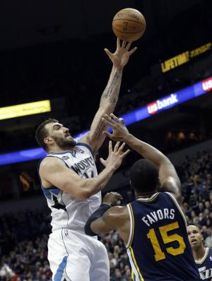 Pekovic making his move in Minnesota