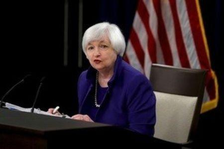 File photo of Yellen during a news conference in Washington