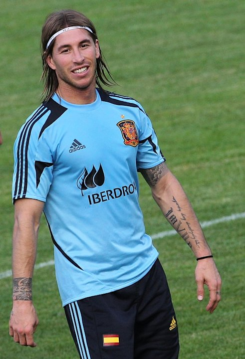 Spain National Football Team Defender Sergio Ramos Smiles AFP/Getty Images