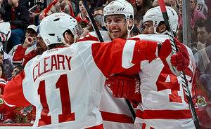 NHL Playoff Game Day 19: Red Wings-Blackhawks; Kings-Sharks