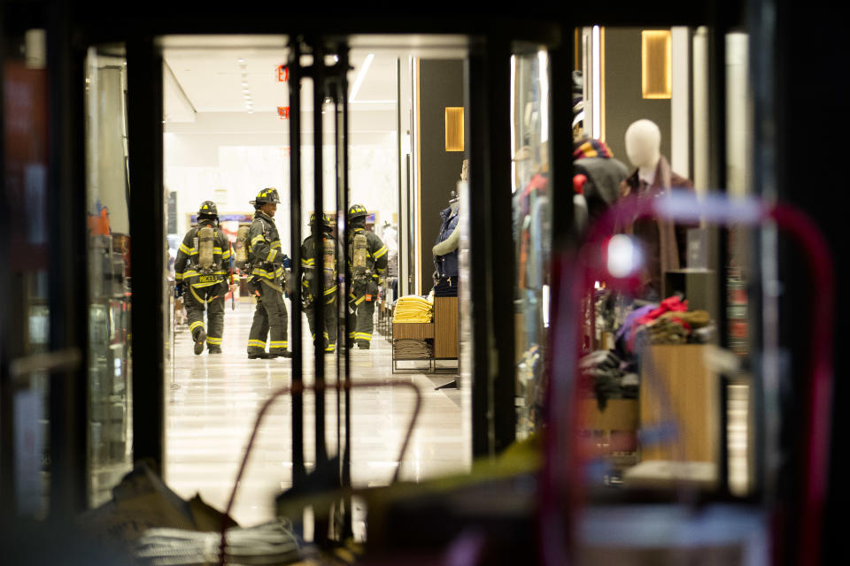 FDNY: No one injured in NYC Macy's store fire