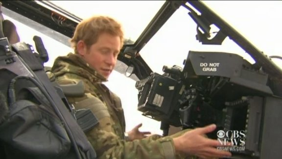 Prince Harry's life in Af …