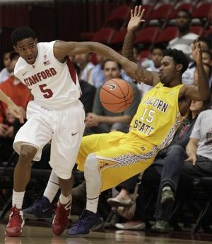 Huestis leads Stanford past Alcorn State 69-51