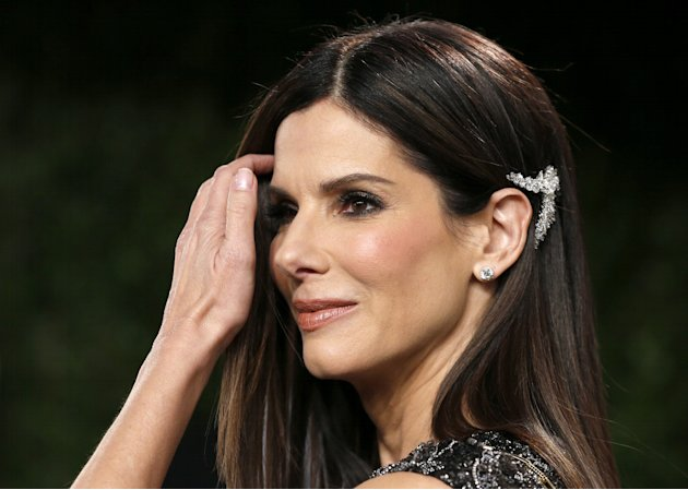 Sandra Bullock attends the 2013 Vanity Fair Oscars Party in West Hollywood
