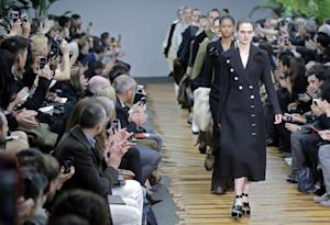 Models wear creations for Celine's ready-to-wear …