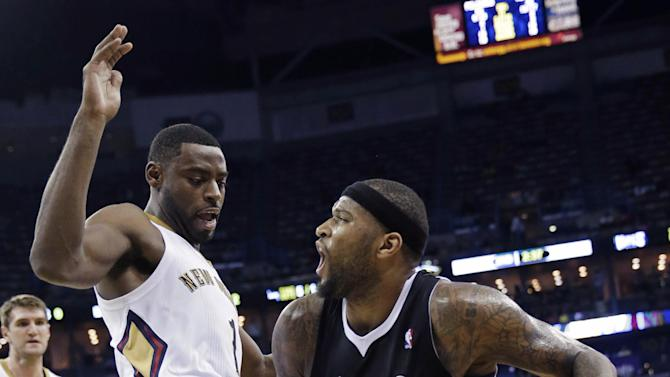 Cousins leads Kings past Pelicans, 102-97