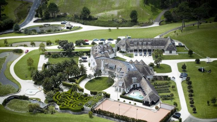 Kim Dotcom Is Very Annoyed to Be Stuck in His New Zealand Mansion