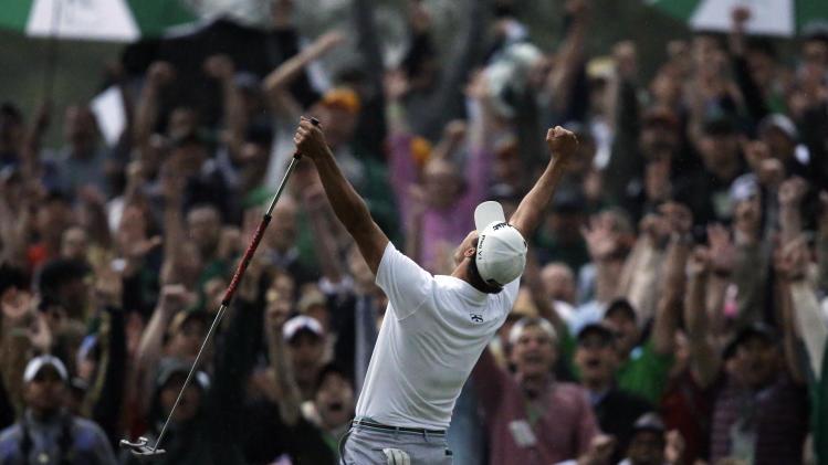 Adam Scott's win boosts Masters ratings