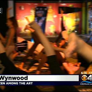 Yoga Among The Wynwood Walls