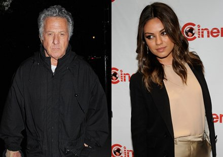 Mila Kunis et Dustin Hoffman : des hros !