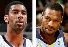 Grizzlies' Allen, Mayo fight on plane