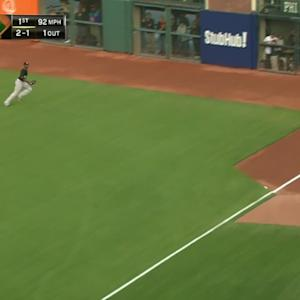 Posey's two-run double