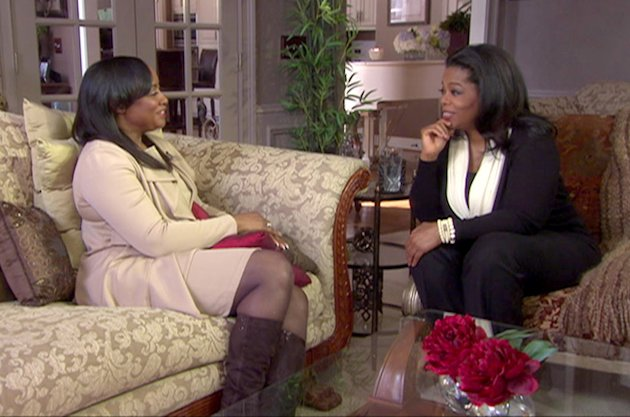 "Oprah Winfrey with Patricia Houston in Atlanta, Georgia as seen on ""Oprah's Next Chapter ."""