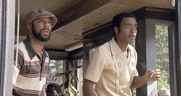 Common and Chiwetel Ejiofor in Universal Pictures' American Gangster