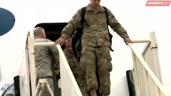 Heroes of 188th welcomed home from Afghanistan