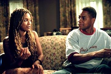 Beyonce Knowles and Cuba Gooding Jr. in Paramount's The Fighting Temptations