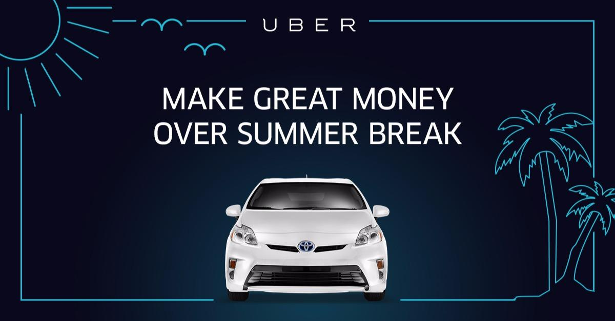 Uber - The New Way to Earn Extra Money.