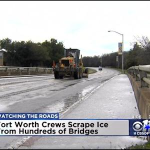 Tarrant County Roads, Bridges Thawing Out