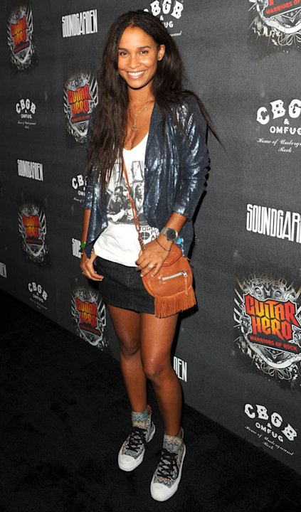 Joy Bryant Guitar Hero