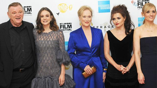 Meryl Streep's 'Suffragette' Premiere Disrupted by Protesters of the Feminist Group 'Sisters Uncut'