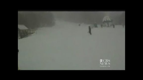 Moose chases skier at Vermont …