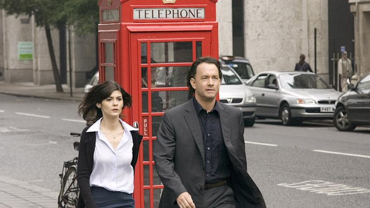 The Da Vinci Code Columbia Pictures Production Photos 2006 Tom Hanks Audrey Tautou