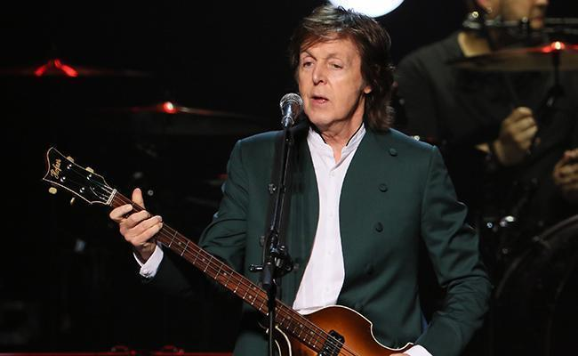 Paul McCartney, Living Legend, Has Made Music For Emojis