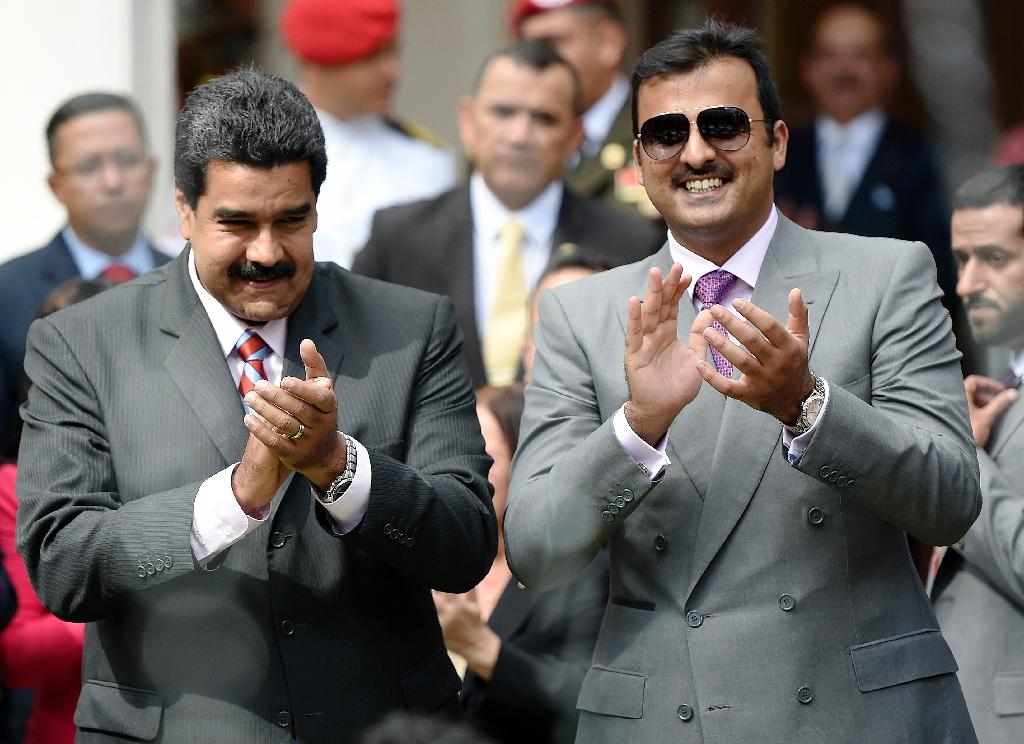 Oil giants Venezuela, Qatar sign energy deals