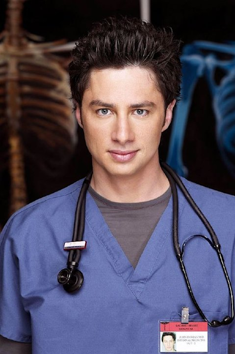 Zach Braff  receives a Best Actor (Comedy) Golden Globe nomination for his role as J.D. Dorian on  Scrubs.