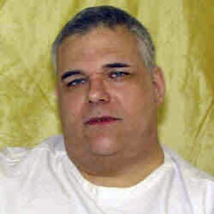 FILE - This undated file photo provided by the Ohio Department of Rehabilitation and Corrections shows death row inmate Ronald Post. Post, 53, scheduled to die Jan. 16, 2013 for the 1983 shooting death of a hotel desk clerk, wants his upcoming execution delayed because of his weight, but warden Donald Morgan of the Southern Ohio Correctional Facility says the execution table can hold Morgan's 480 pounds. (AP Photo/Ohio Department of Rehabilitation and Corrections, File)