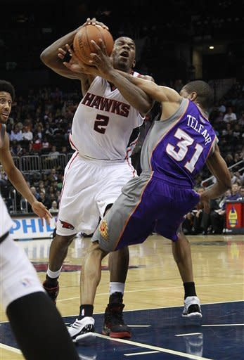 Nash has 24 points to lead Suns past Hawks 99-90