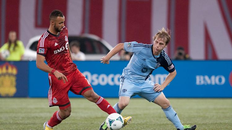 MLS: Sporting KC at Toronto FC