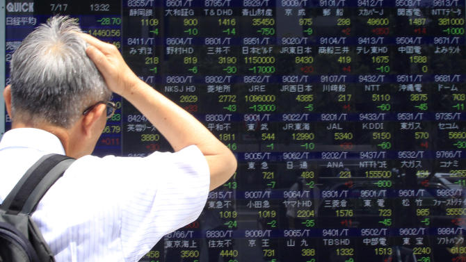 Asian stock markets buoyed by Bernanke testimony