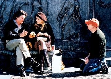 Gabriel Byrne and Laura Linney directed by Dylan Kidd on the set of Newmarket's P.S.