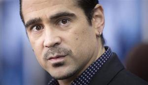 """Actor Colin Farrell arrives for the premiere of his movie """"Winter's Tale"""" in New York"""