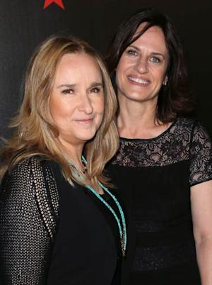 Melissa Etheridge and writer Linda Wallem attend the 38th Annual Gracie Awards Gala at The Beverly Hilton Hotel on May 21, 2013 in Beverly Hills -- Getty Images